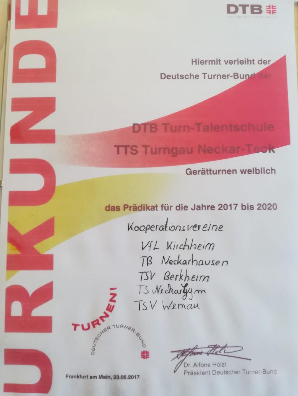 DTB-Turn-Talentschule