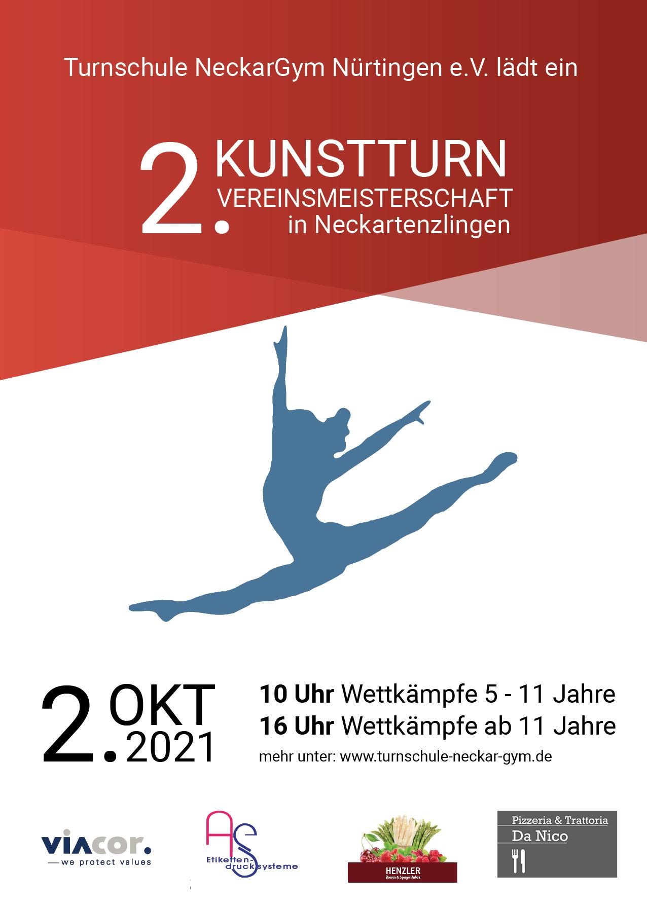 TSN Plakat Vereinsmeisterschaften 2021